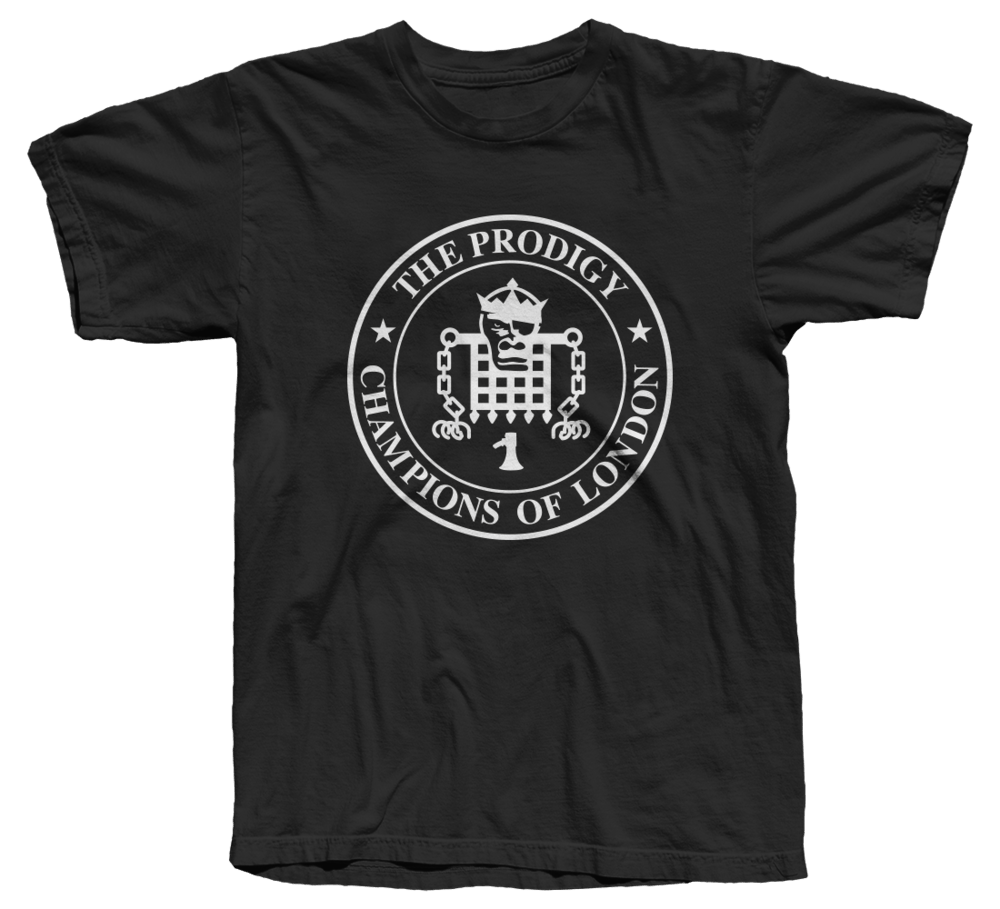 Prodigy Champions Black Mens T-Shirt